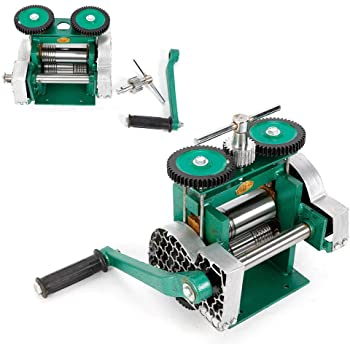 Combination Rolling Mill Machine Manual Durable Cold Rolling Metal Pattern