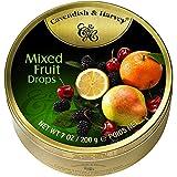 9 Dosen Cavendish & Harvey Mixed Fruit Drops Multi Frucht a 200g C & H -
