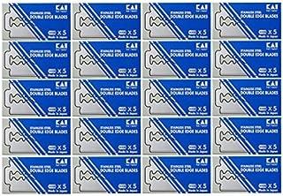 Kai 100 pack Stainless Double Edged Blades 100blades razor blades