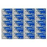 KAI Paquete de 100 inoxidable de doble filo cuchillas 100Blades las hojas de afeitar