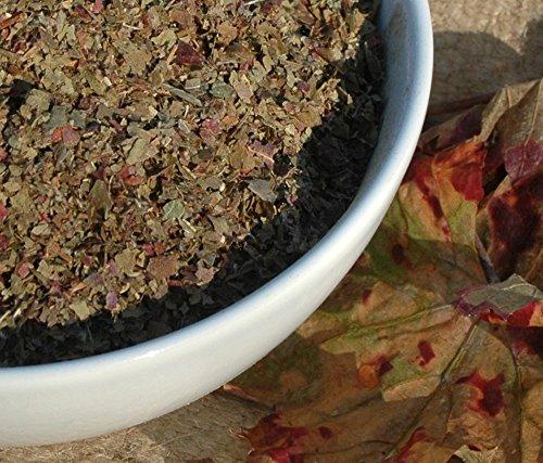Naturix24 – Weinblättertee, Weinblätter rot geschnitten - 1 Kg