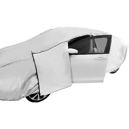 BEPM Cubierta para Coche Car Cover Funda Coche Exterior 590Cm 232Inch 3 Capas Cami/ón Camioneta Cubierta Al Aire Libre Impermeables Cubre Protector De La Lluvia A Prueba De Polvo UV para