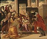 Spiffing Prints EL Greco - Adoraci de los Reyes Magos -