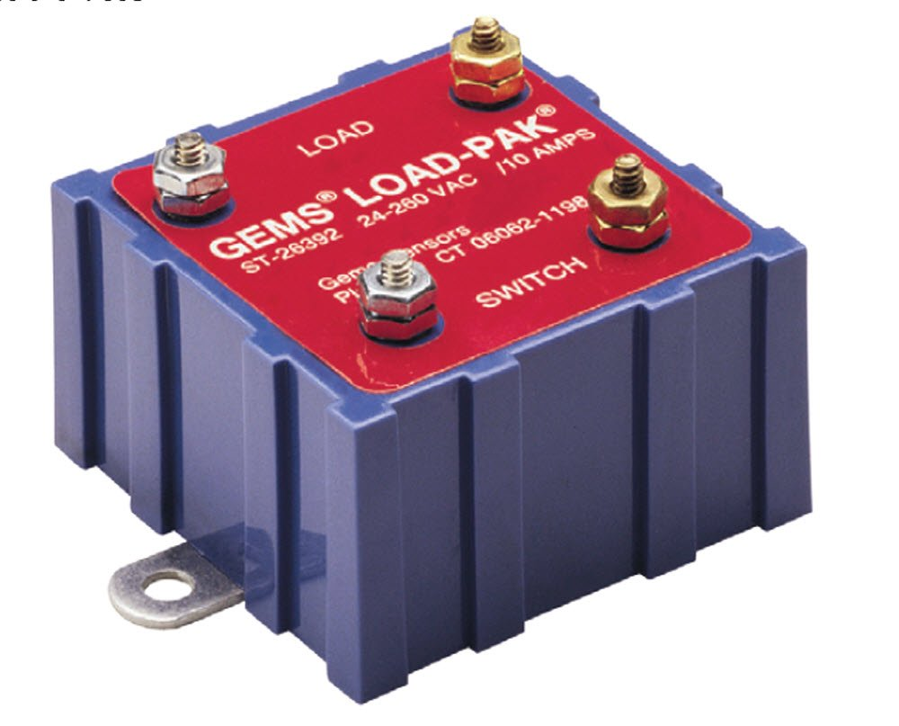 Long-awaited Gems Sensors 26392 Load-Pak Chicago Mall Non-Intrinsically to Relay 24 Safe