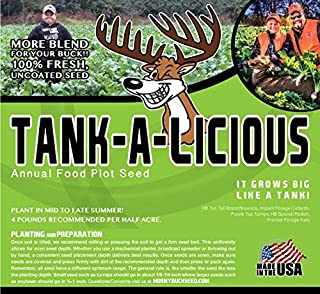 Horny Buck Food Plot Seed for Deer - Tank-a-licious Blend