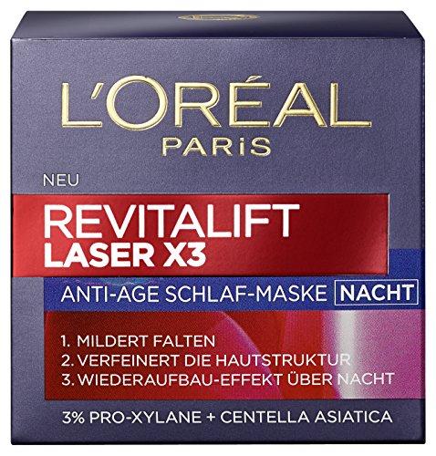L'Oréal Paris Dermo Expertise, Revitalift Laser X3 Nacht, 50 ml