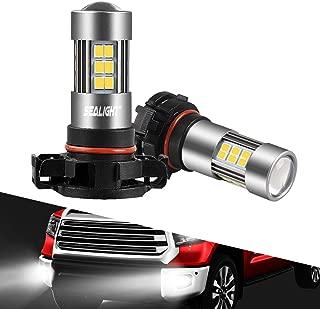 SEALIGHT 5202 LED Fog Lights Bulbs Daytime Runing Lights 2504/H16 TYPE 1(European Type Not for Japan Vehicle)/PSX24W/9009 Xenon White 6000K 27 SMD Chips