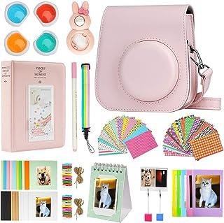 Cpano Mini 11 Paquetes de Accesorios de cámara para FujiFilm Instax Mini 11 con Estuche de cámara/álbum de Libro/Selfie le...