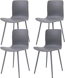 Ellexir Set de 4 sillas de Comedor de Estable y sólida Silla de Comedor,Silla de Bar Silla de Ofici
