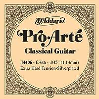 D'Addario ダダリオ クラシックギター用バラ弦 プロアルテ E-6th J4406 【国内正規品】