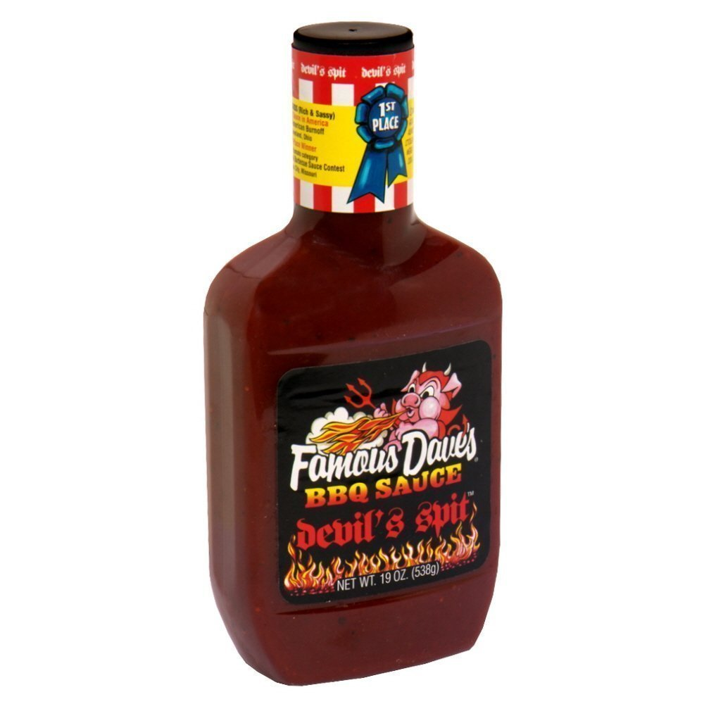 Famous Dave's BBQ Sauce All items in the store Devil's Pack 19-Ounce Spit Limited time trial price of 12
