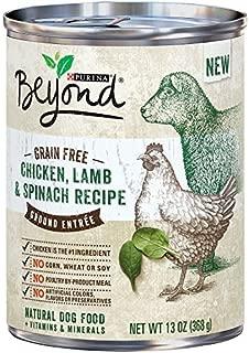 Purina Beyond GRAIN FREE Chicken,Lamb & Spinach Recipe (6-CANS) (NET WT 13 OZ EACH)