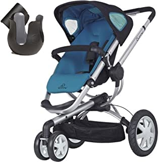 Quinny CV155BFWK10 Buzz 3 Stroller with Cup Holder - Blue Scratch