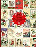 100 Vintage Christmas Card Images