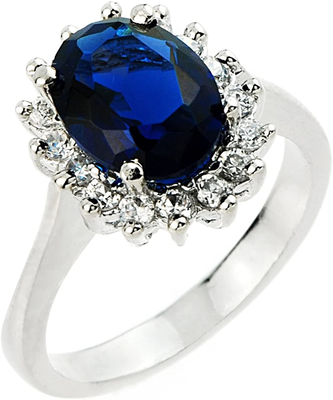 Sterling Silver Ladies LCS September Birthstone Virginia Beach Mall and CZ Gemston Limited Special Price
