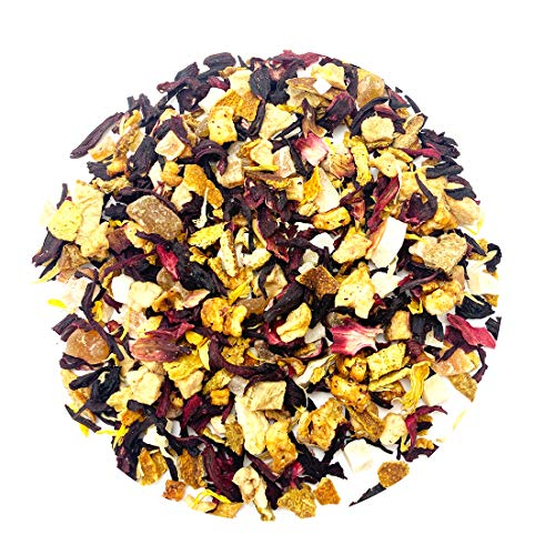 Peach Hibiscus Passion Fruit Tea Benefits Organic Decaf Peach Tea Best Dried Iced Mixed Fruit Tea Herbal Loose Leaf