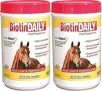 2 Pack  Biotin Daily Hoof Care Supplement
