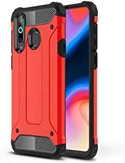 DOHUI Case for Huawei Y8s, [Dual Layer] Heavy Duty Rugged Hybrid Armor Cover, Air Cushion Technology, Shock Resistant, Cas...