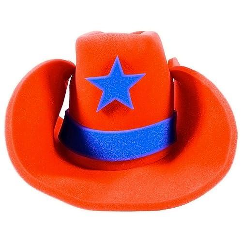 199699bb7a7 Funny Party Hats Huge Cowboy Hat - Funny Cowboy Hat – Costume Cowboy Hat –  Oversize