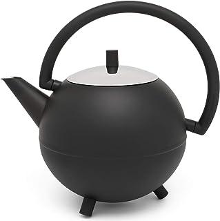 Bredemeijer 111003 Saturnus Teekanne, rostfritt stål, 1,2 liter