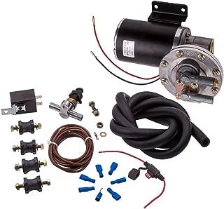 maXpeedingrods Electric Vacuum Pump Kit Set for Brake Booster 12 Volt 18