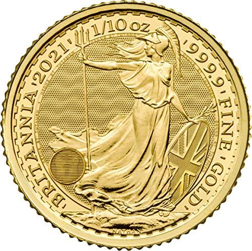 Britannia 1/10oz 2021 Goldmünze