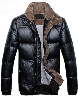 レザージャケット メンズ コート 革ジャンカジュアル本革羊革ダウン 大きいサイズ ライダースジャケット ビジネス アヒルの羽毛カッコイイ 冬