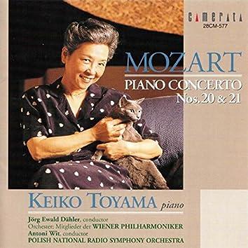 Piano Concertos Nos. 20 & 21