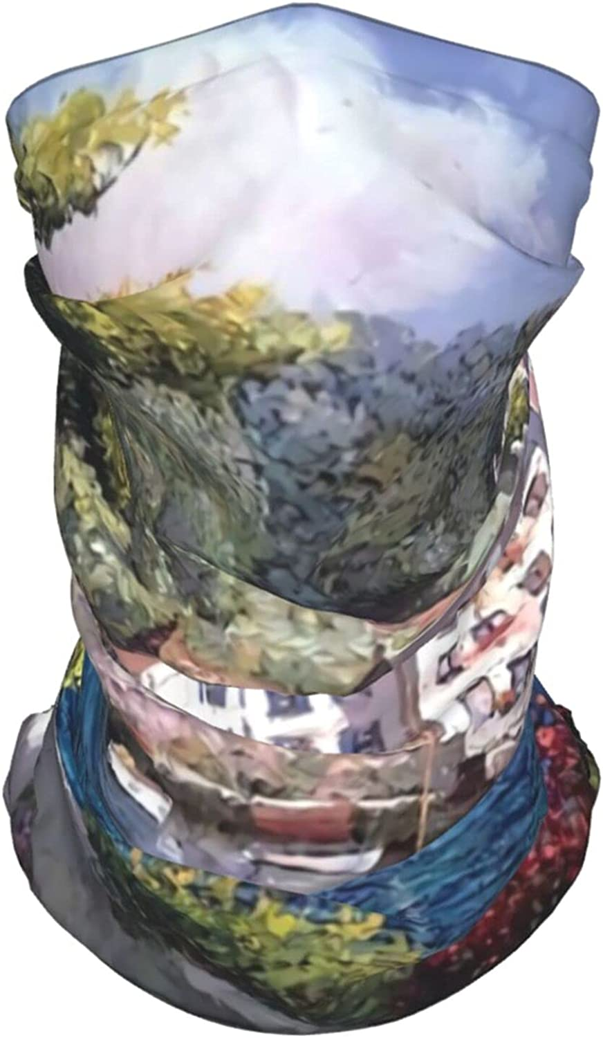 Abstract Pattern2 Neck Gaiter Multipurpose Headwear Ice Silk Mask Scarf Summer Cool Breathable Outdoor Sport 2 PCS