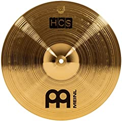 "PERFECT FOR FAST, SHIMMERING ACCENTS: The 14"" Meinl HCS crash delivers a bright response with a warm sustain and is the perfect size for adding quick, shimmering crash cymbal accents to your drum set playing. Strike the cymbal at the end of a roaring..."