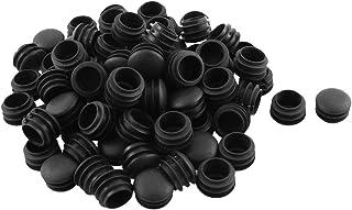 sourcingmap 8mm Diametro foro forma rotonda coperchio mobili per tappi a vite Coperchi bianco 100 pz