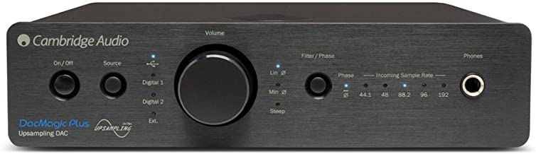 Cambridge Audio Azur DacMagic Plus Digital to Analogue Convert, Black