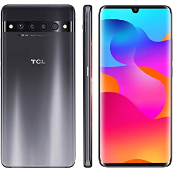 "TCL 10 Pro Unlocked Android Smartphone with 6.47"" AMOLED FHD + Display, 64MP Quad Rear Camera System, 128GB+6GB RAM, 4500mAh Fast Charging Battery"