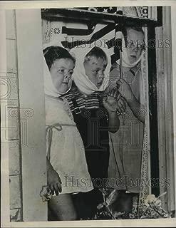 Historic Images - 1939 Vintage Press Photo Rochester, NY Frances Pimm, Elmer Cummings,EM Pimm, have mumps