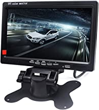 Padarsey 7 Inch LED Backlight TFT LCD Monitor for Car Rearview Cameras, Car DVD, Serveillance Camera, STB, Satellite Receiver and Other Video Equipment