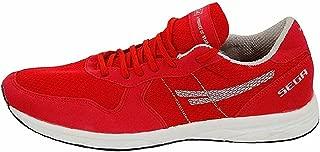 SEGA Unisex Red Marathon Running Shoes