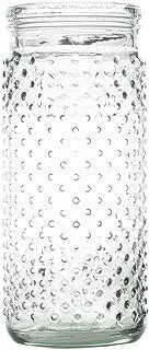 Clear Hobnail Glass Jar - 4