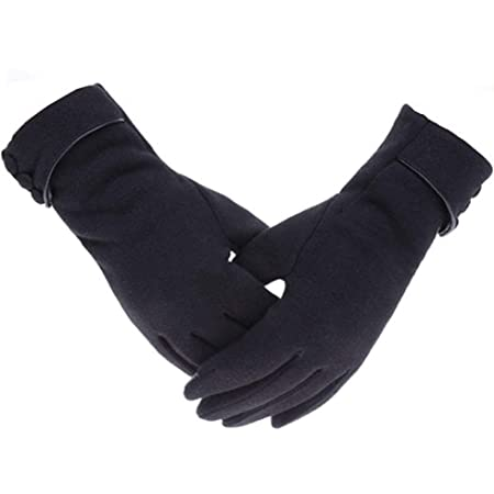 Outrip Womens Lady Winter Warm Gloves Touch Screen Phone Windproof Lined Thick Gloves