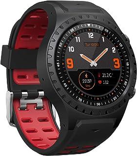 GXLX Smartwatch con Pulsómetro Deportivo de Pulsera Actividad para Hombre Mujer,Rojo