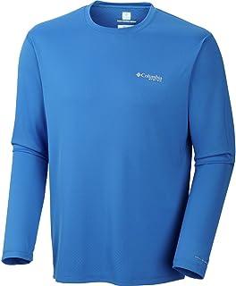 2eaa3c84388 Columbia Men's PFG Zero Rules Long Sleeve Shirt, UPF 30 Sun Protection