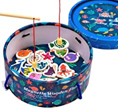 Jaques of London Magnetic Fishing Game Wooden Toys Fishing Game –– Perfect toddler toys recommended toys for 2 3 4 year olds