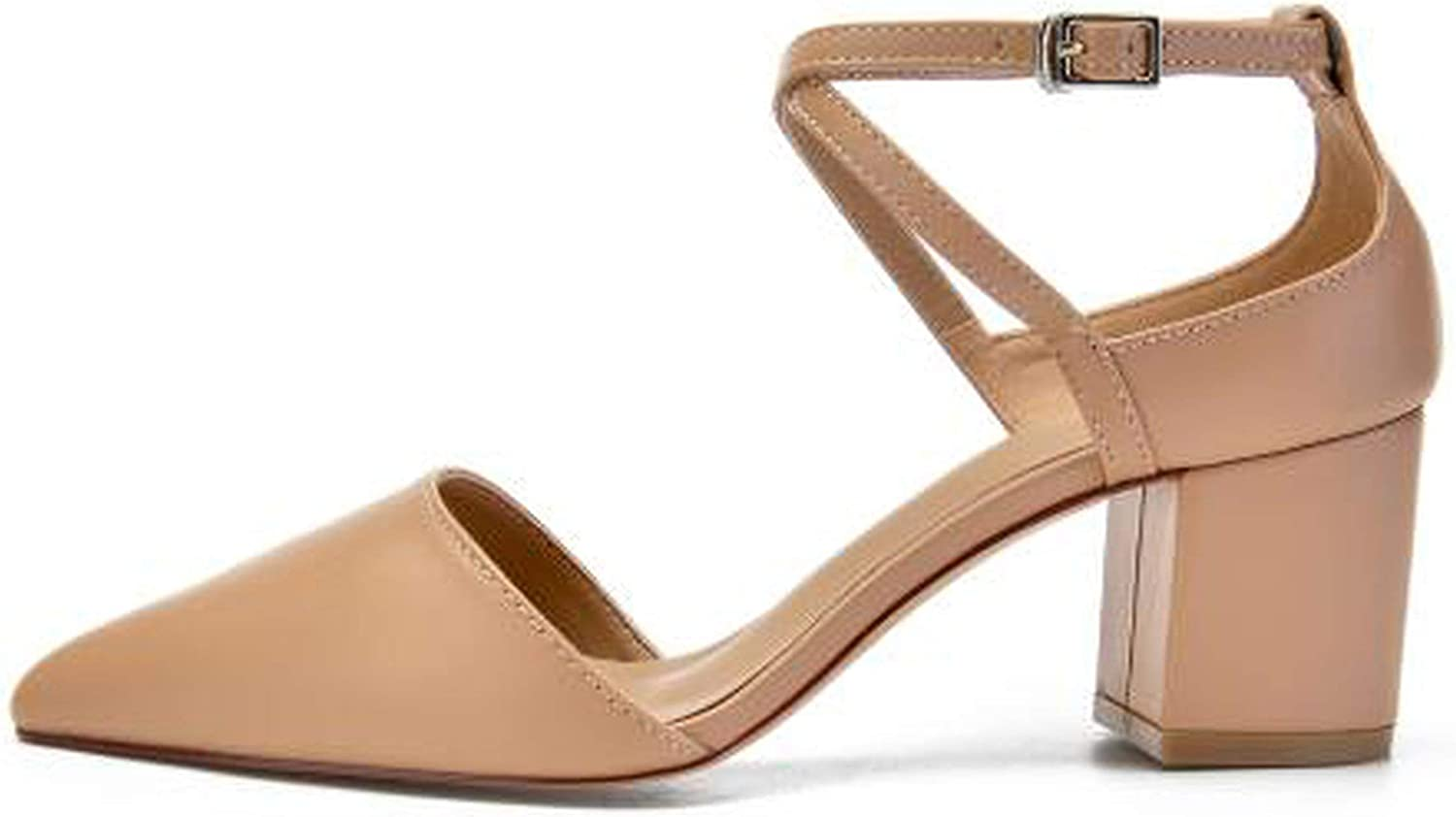 Women High Heels Light Pink Cross Strap Party Sandals shoes US4 to US9 K-344