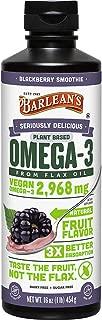 Barlean's Seriously Delicious Omega-3 Flax Oil, Blackberry, 16-oz
