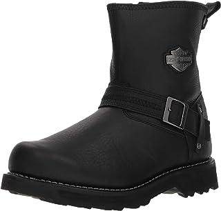 HARLEY-DAVIDSON Men's Richton 8-Inch Black Leather