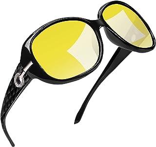 Joopin عینک آفتابی پلاریزه زنانه سایه زنانه عینک آفتابی بزرگ قاب بزرگ
