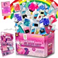 Unicorn Slime Science Kit for Girls- Huge DIY Educational Activities Learning set- Non toxic, Comes with everything for kids to make slime experiments + glow in the dark and primary colour mixing. from ZHEJIANG MULTISTAY CO., LTD