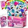 Zen Laboratory DIY Slime Kit Toy for Kids Girls Boys Ages 3-12, Glow in The Dark Glitter Slime Making Kit - Slime… 2