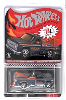 Hot Wheels 2011 Selections Series Rambiln' Wrecker 2/2 Black Red Line Club Truck with Good Year Neo Classic Real Riders Tires