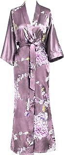 Kim+ONO Women's Kimono Long Robe - Chrysanthemum & Crane