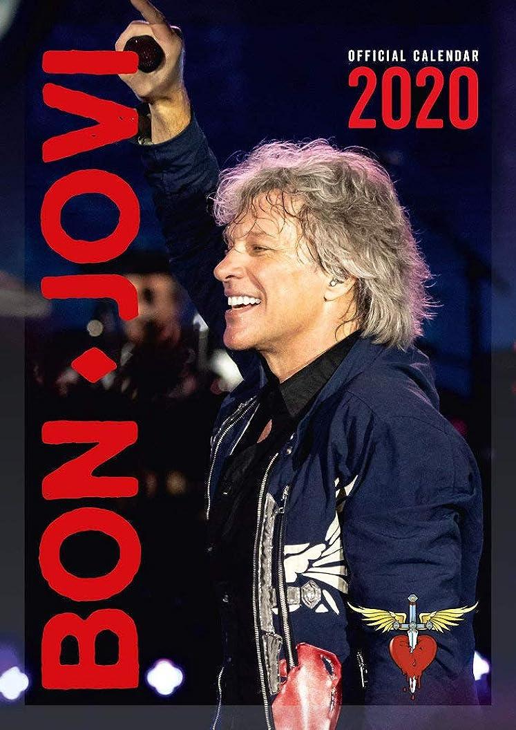 乗り出す乱闘あいまいなBON JOVI ボン?ジョヴィ (デビュー35周年記念) - 2020 Official Calendar/カレンダー 【公式/オフィシャル】